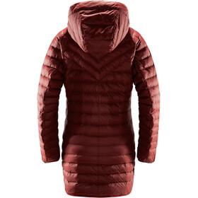 Haglöfs Dala Mimic Parka Femme, maroon red